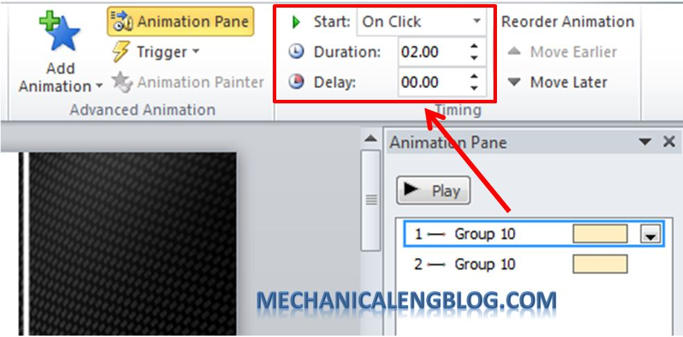 Create a menu in PowerPoint by Hyperlink 14