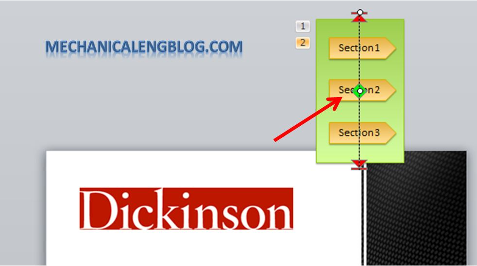 Create a menu in PowerPoint by Hyperlink 19