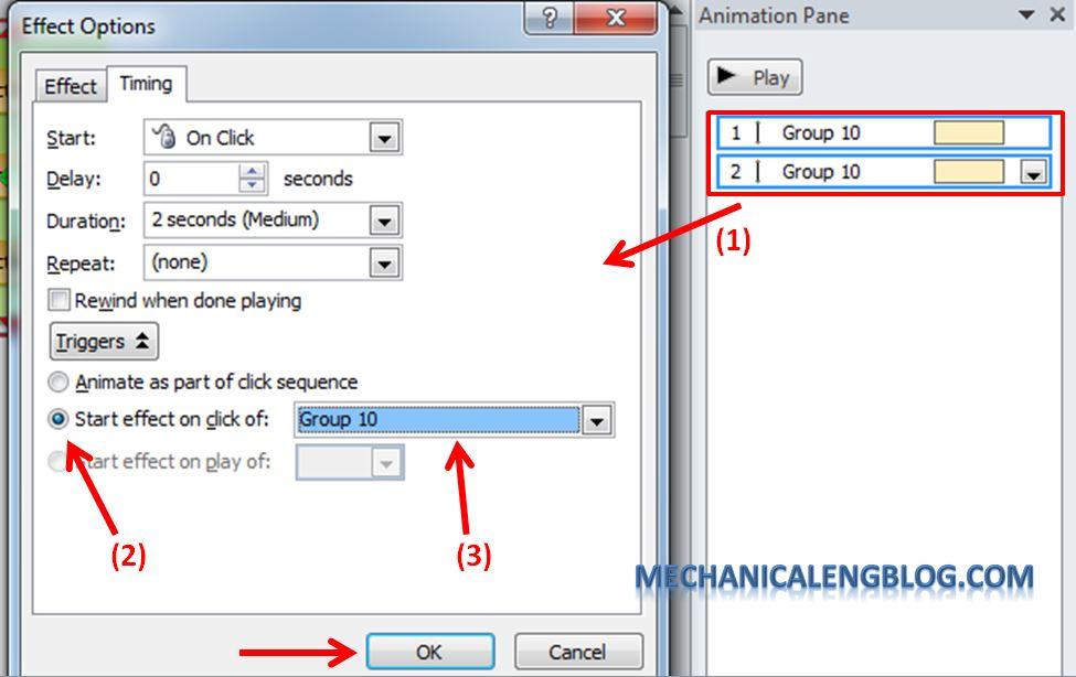 Create a menu in PowerPoint by Hyperlink 20
