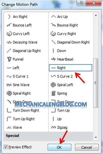 Create a menu in PowerPoint by Hyperlink 9