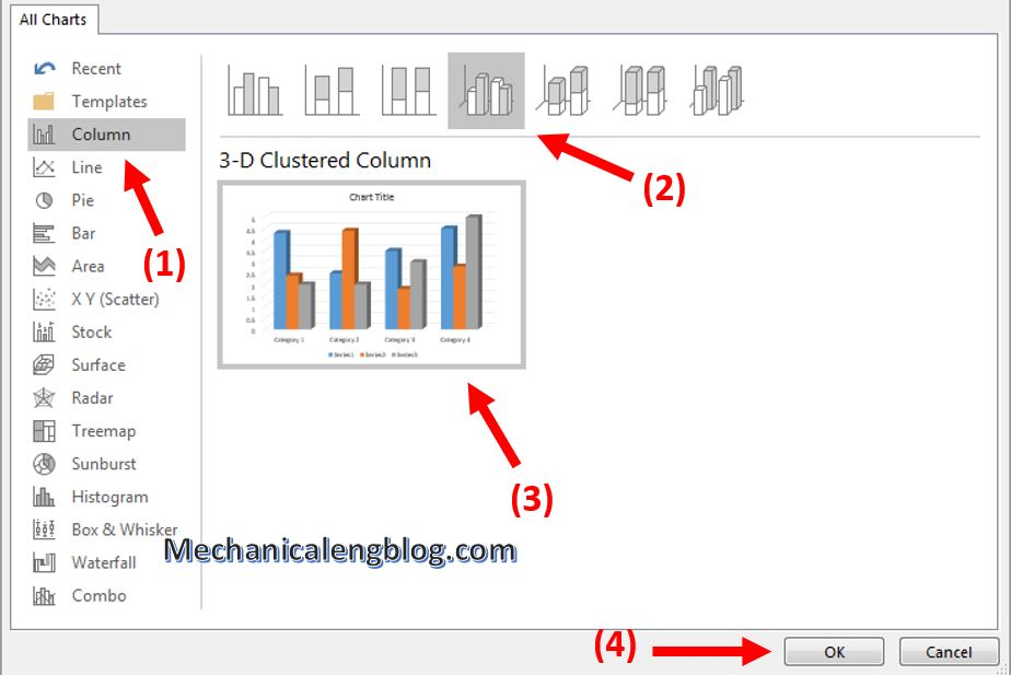 How to insert chart in PowerPoint 2