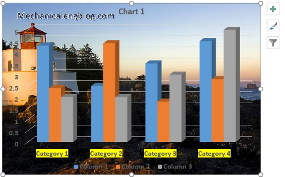 How to insert chart in PowerPoint 9