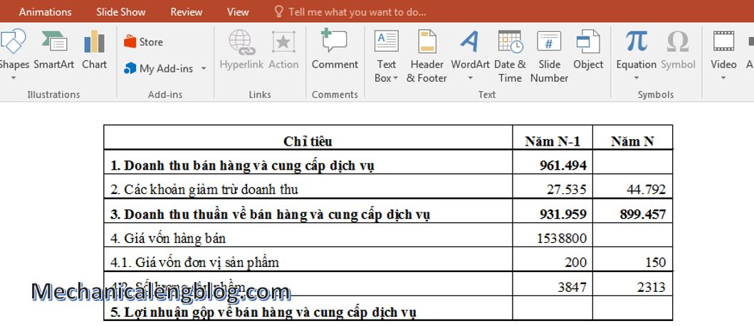 copy table from word to ppt 7