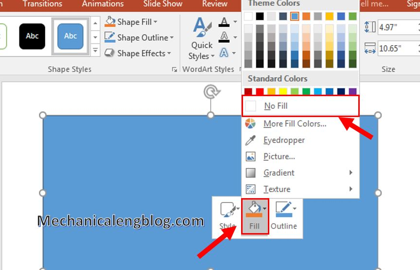 how to add border in powerpoint 3