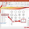 insert SmartArt in powerpoint 1