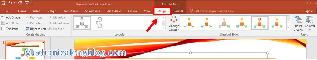 insert SmartArt in powerpoint 3