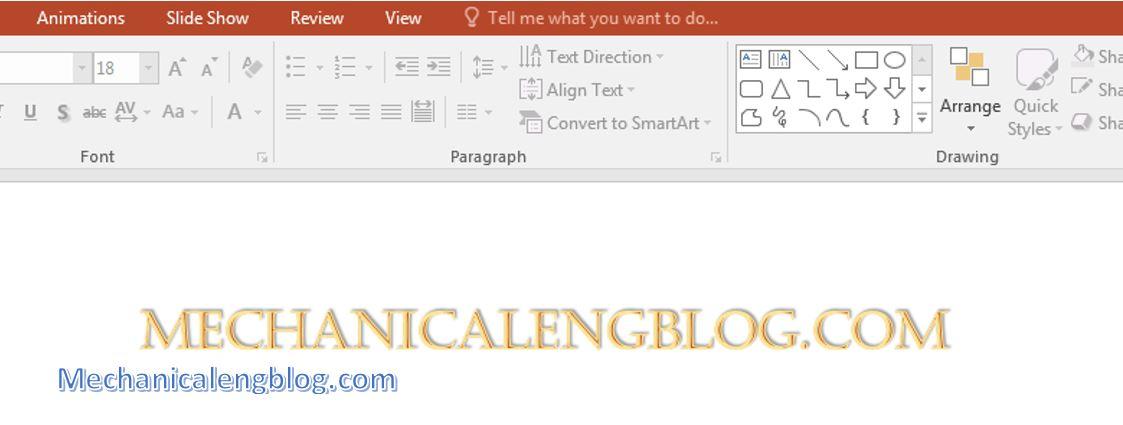 insert text box in powerpoint 3