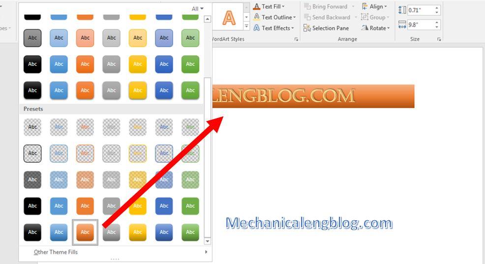 insert text box in powerpoint 5