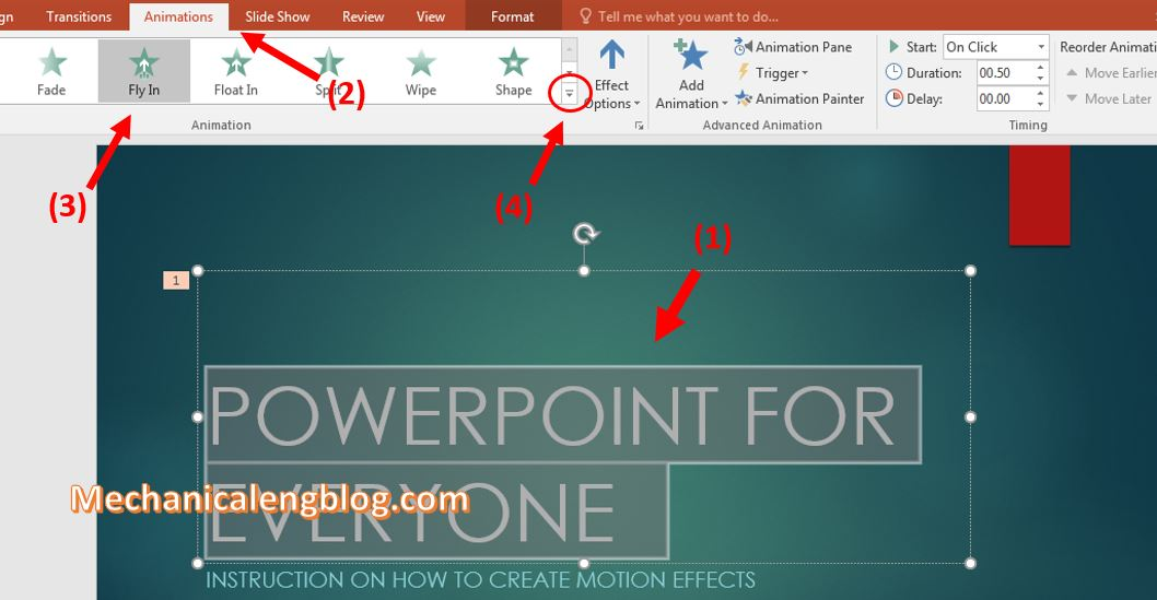 make transitions in powerpoint 1