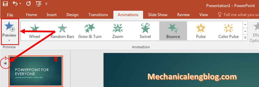 make transitions in powerpoint 3
