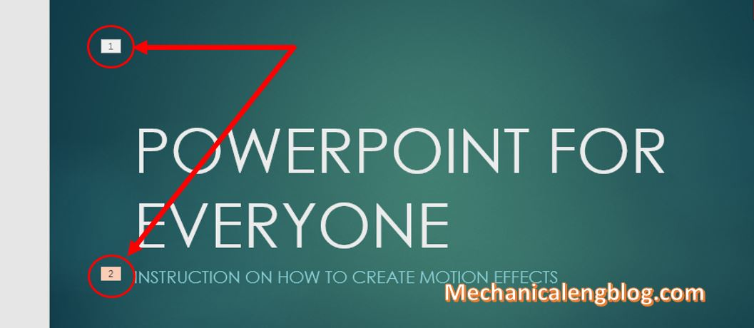 make transitions in powerpoint 4