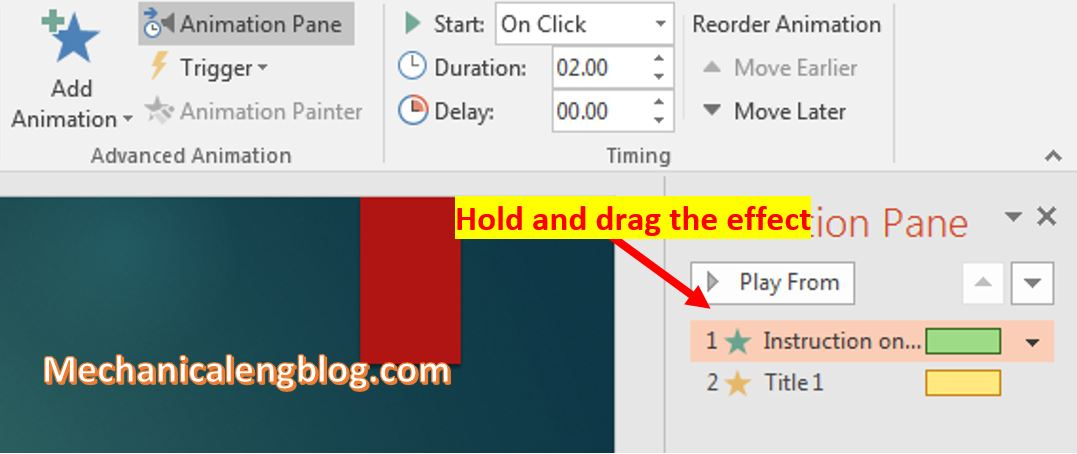 make transitions in powerpoint 6