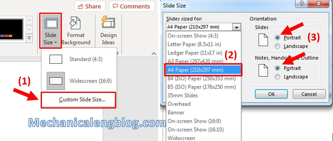 How to make a flyer in Powerpoint 1