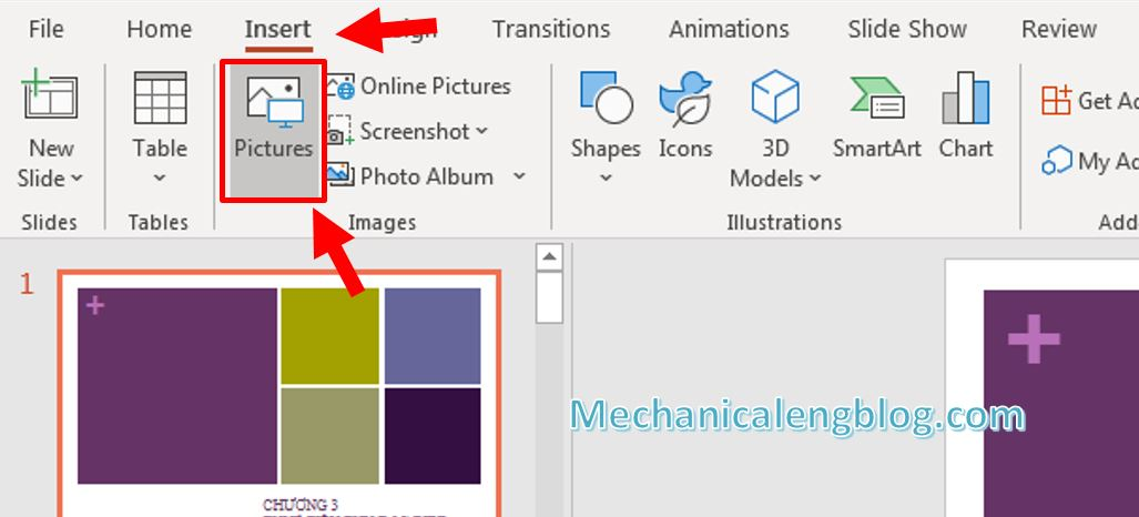 How to add watermark in PowerPoint 1