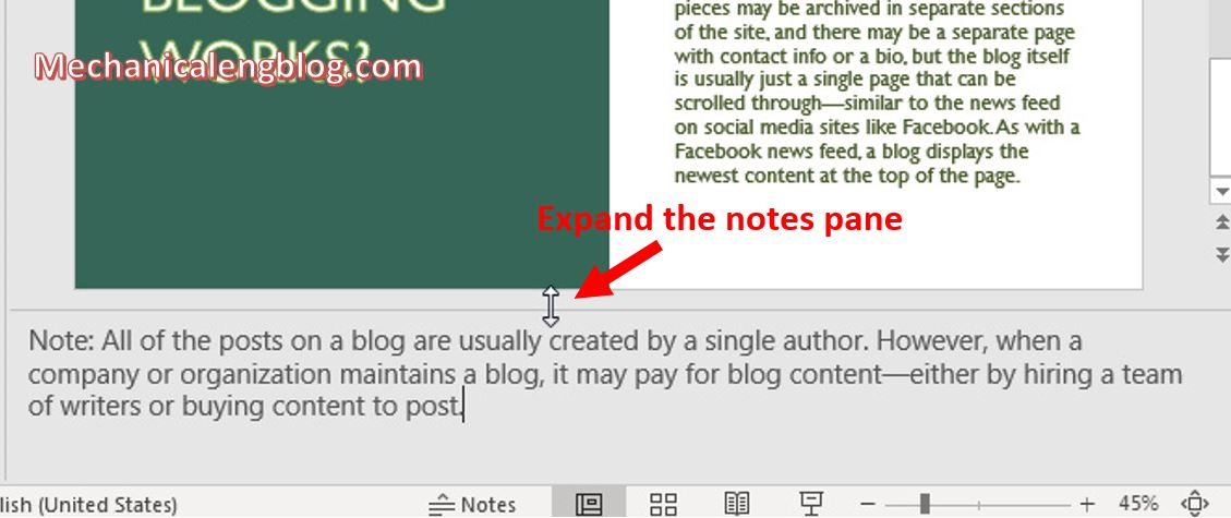 how to add notes to powerpoint 2