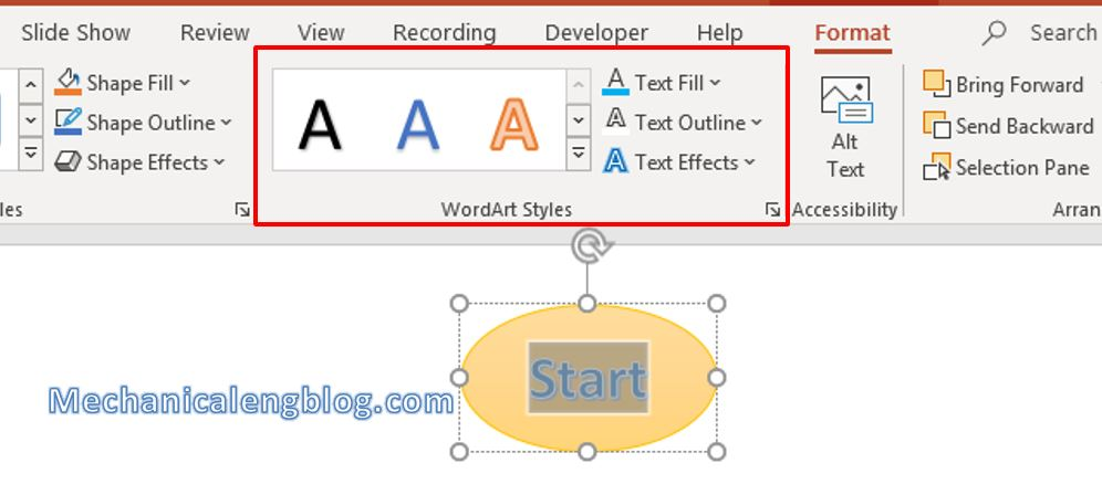 How to create a flowchart in PowerPoint 3