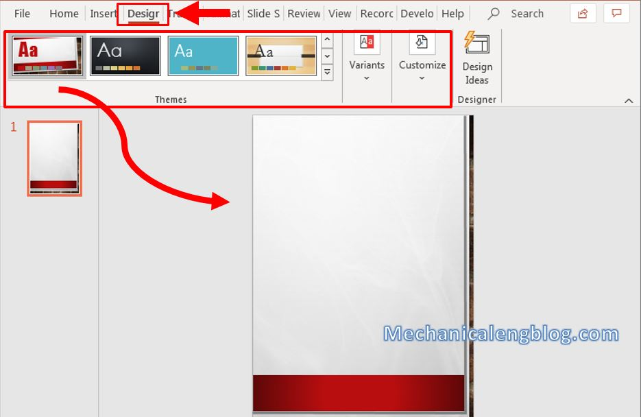 How to make a flyer in Powerpoint 5
