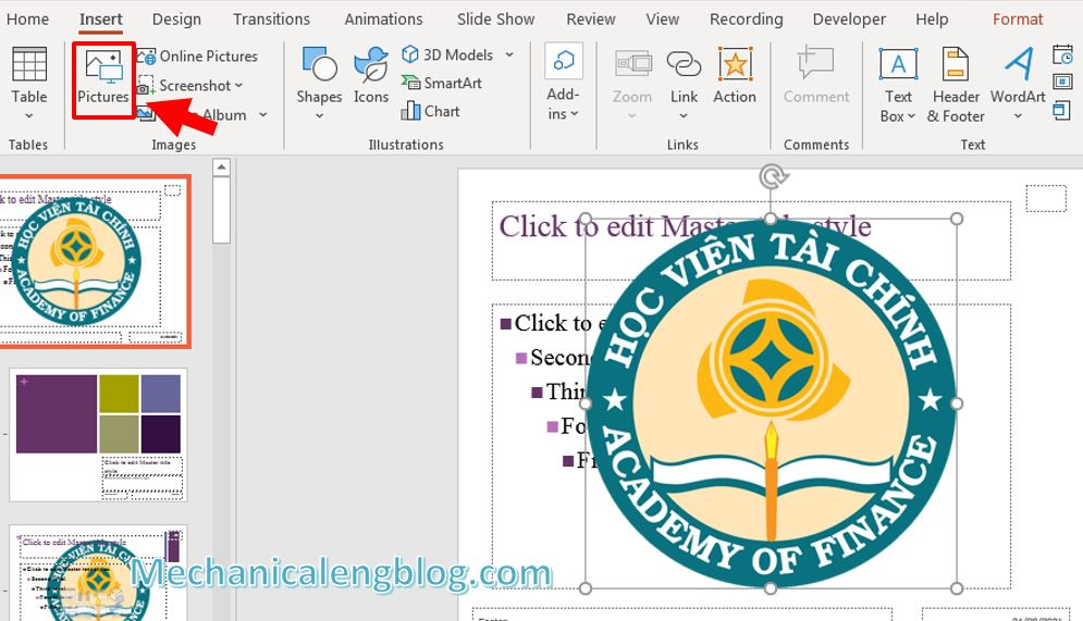 How to add watermark in PowerPoint 6