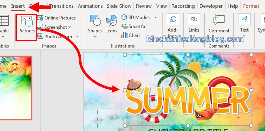 How to make a flyer in Powerpoint 7