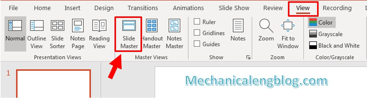 How to add watermark in PowerPoint 4