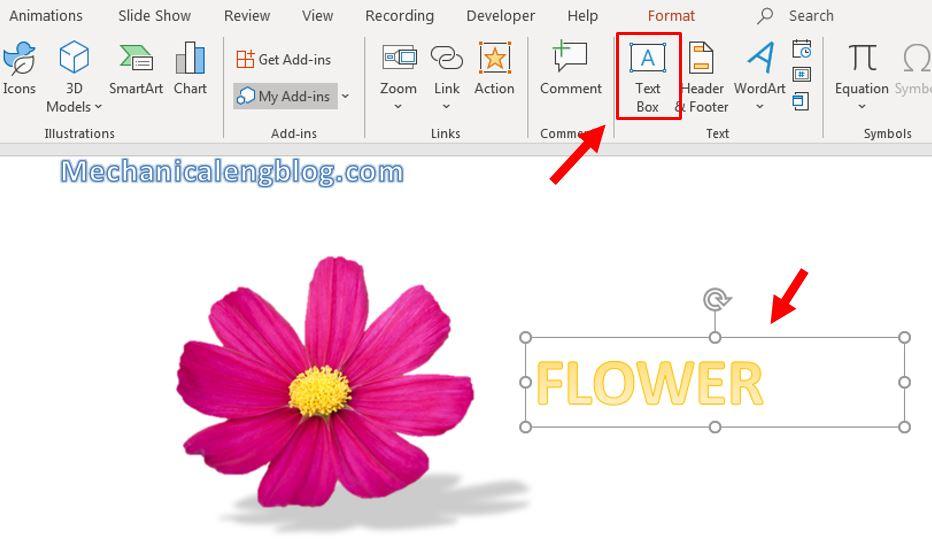 Add shadow effect for object in PowerPoint 4