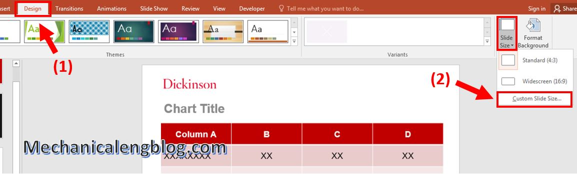How to add page numbers to powerpoint 5