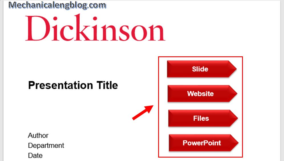 How to create Hyperlink in PowerPoint 3