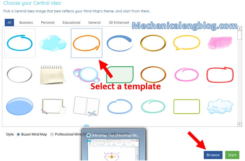 How to create mind map in powerpoint 2