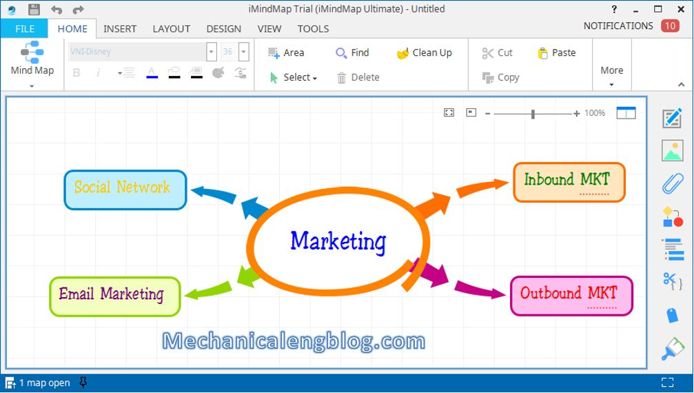 How to create mind map in powerpoint 4