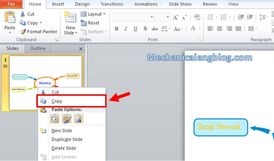 How to create mind map in powerpoint 9