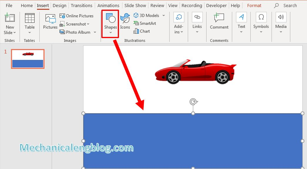 How to create powerpoint motion path 2