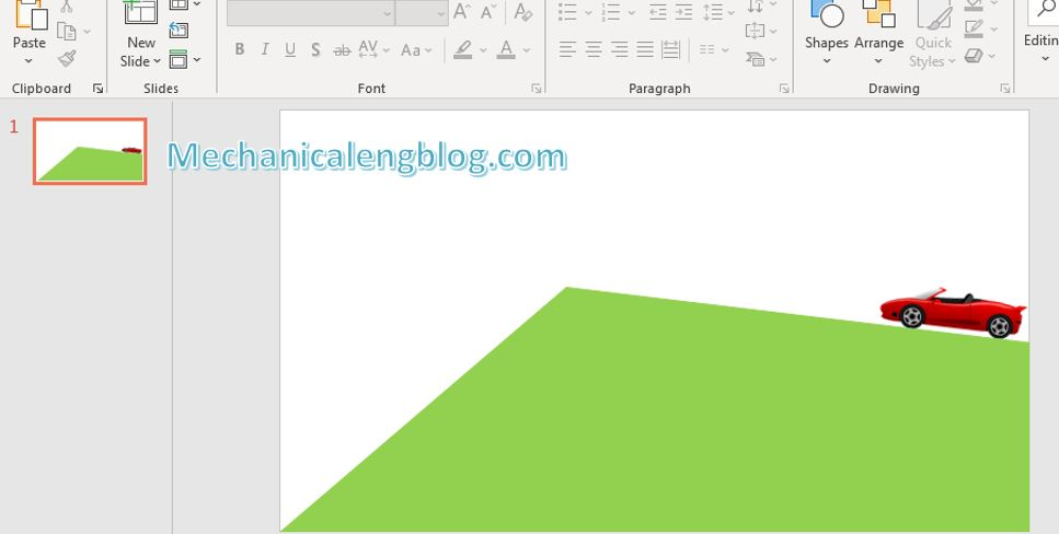 How to create powerpoint motion path 5