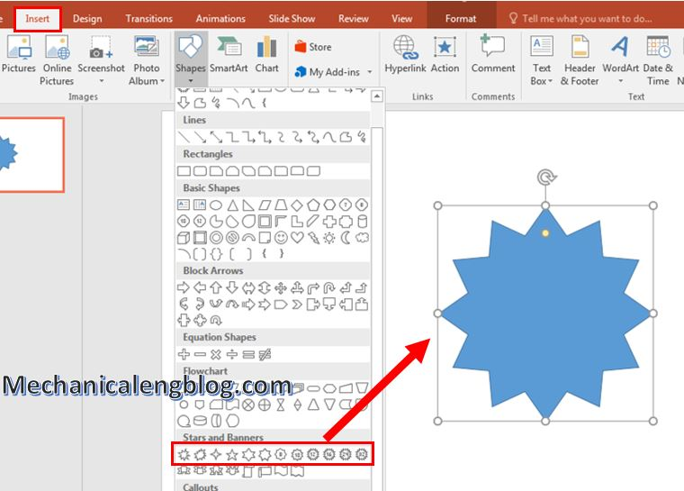 How to create rocket animation in PowerPoint 1