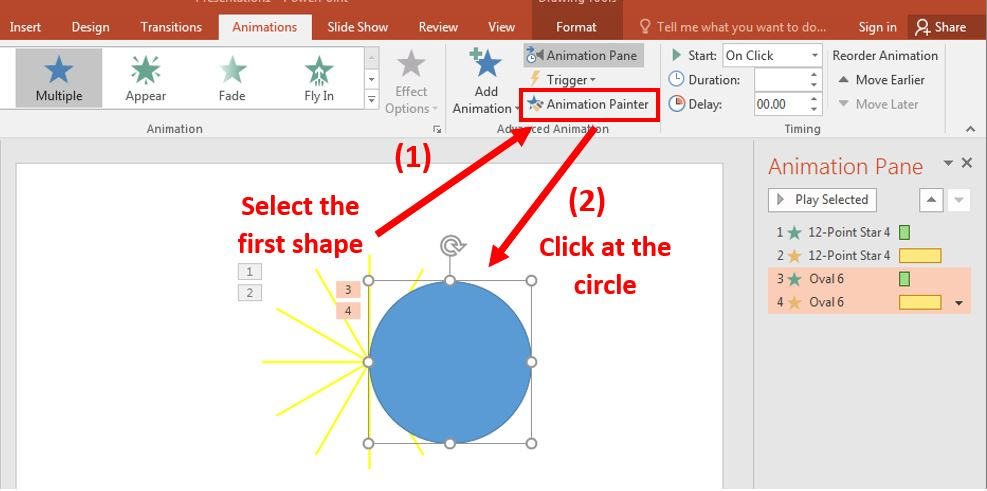How to create rocket animation in PowerPoint 10