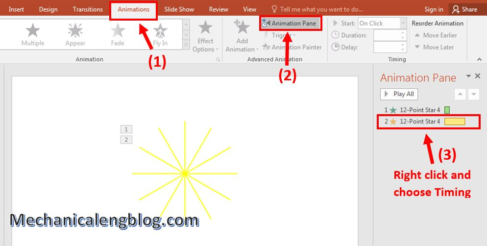 How to create rocket animation in PowerPoint 7