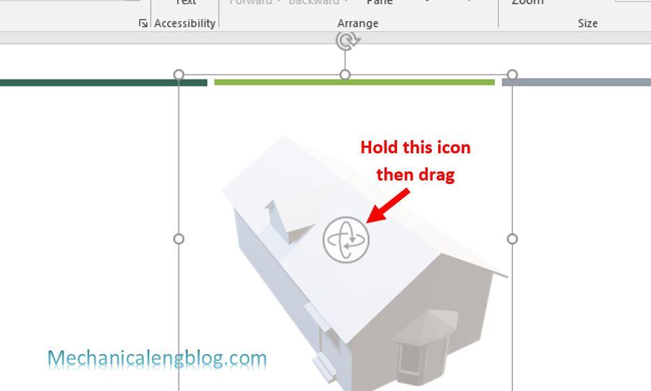 Insert 3D model in PowerPoint 6
