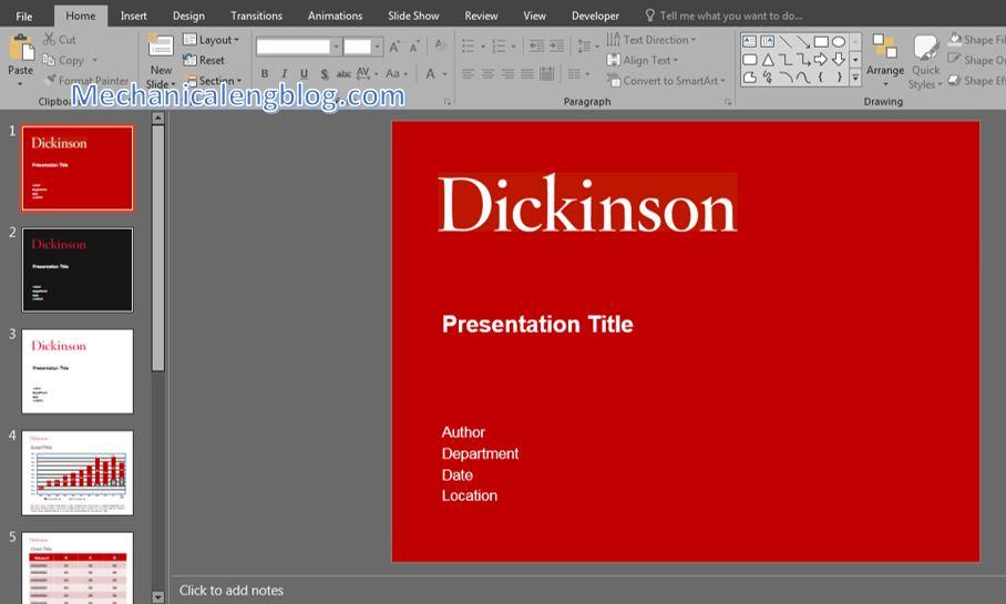 Turn on Dark Mode PowerPoint 2
