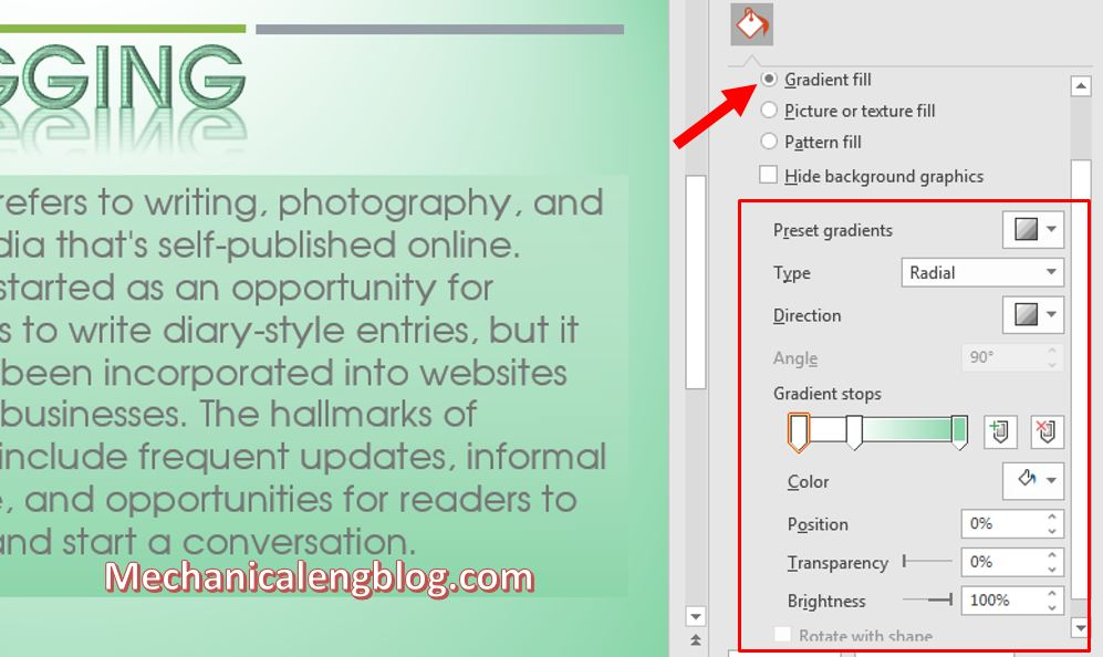 how to change background color in powerpoint 5