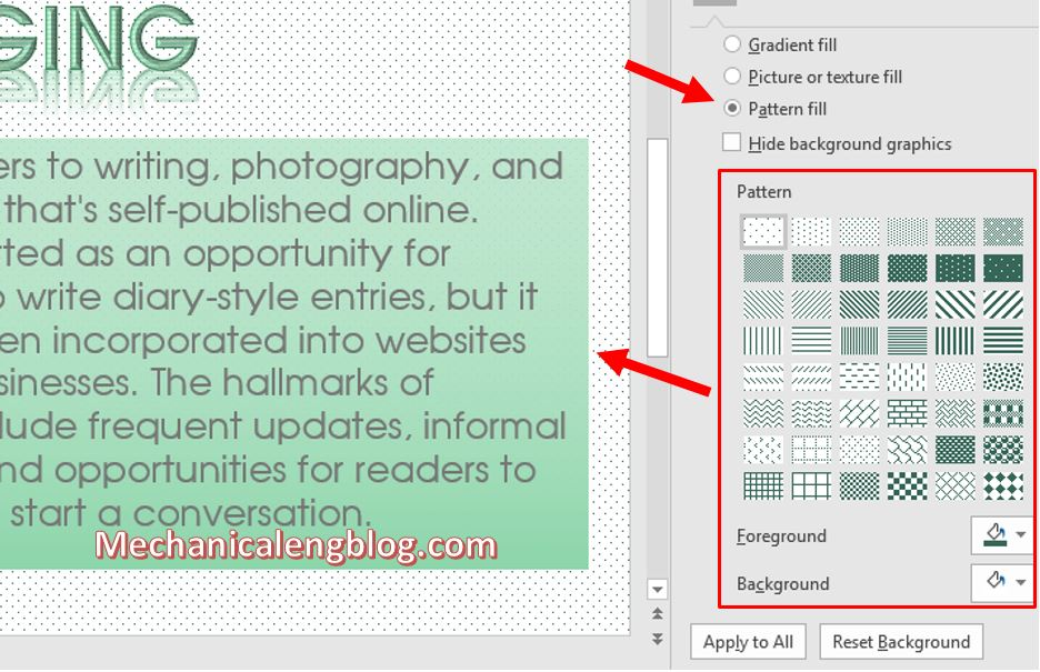 how to change background color in powerpoint 7