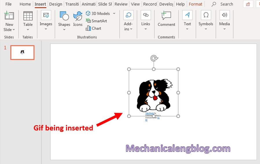 how to insert gif in powerpoint 3