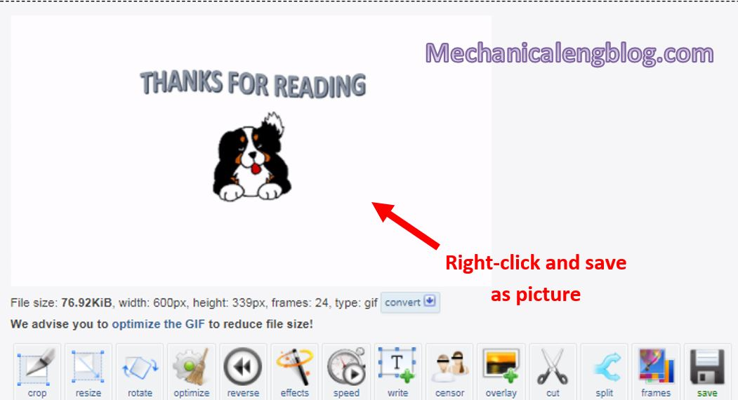 how to insert gif in powerpoint 8