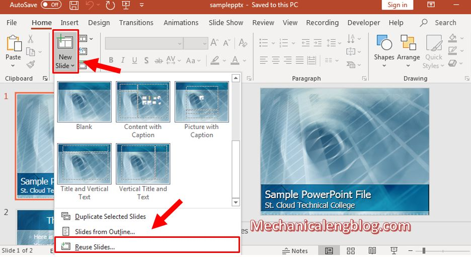 how to merge ppt files into one 1