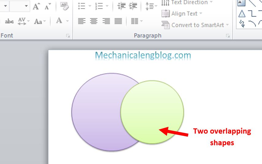 how to merge shapes in powerpoint 1