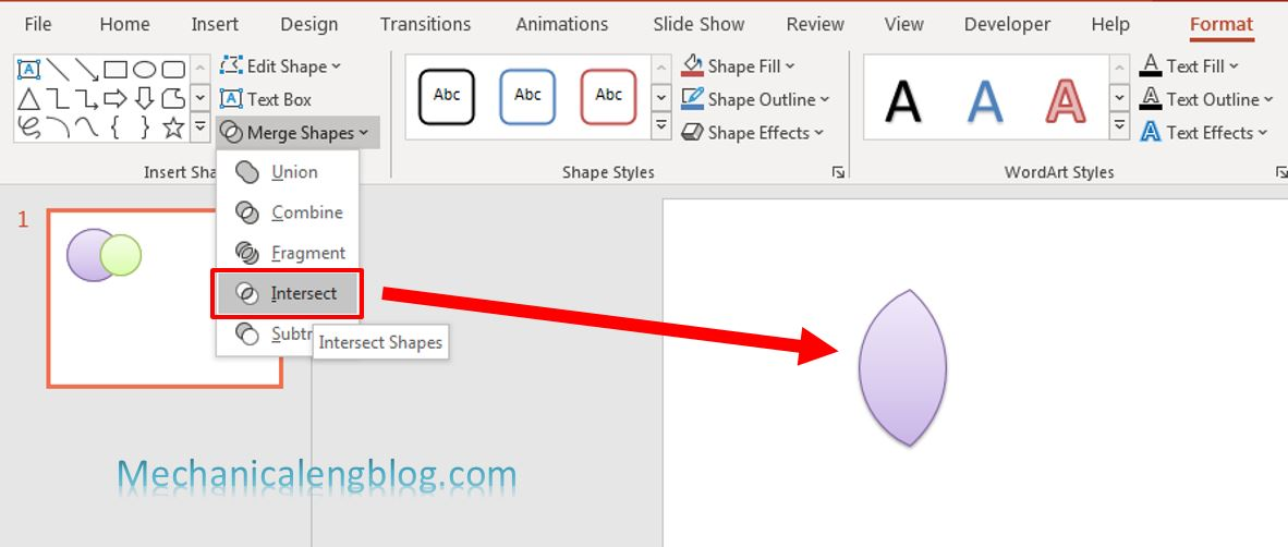 how to merge shapes in powerpoint 5