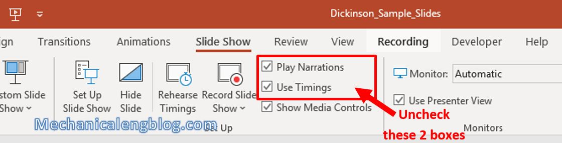 how to record a powerpoint presentation 6