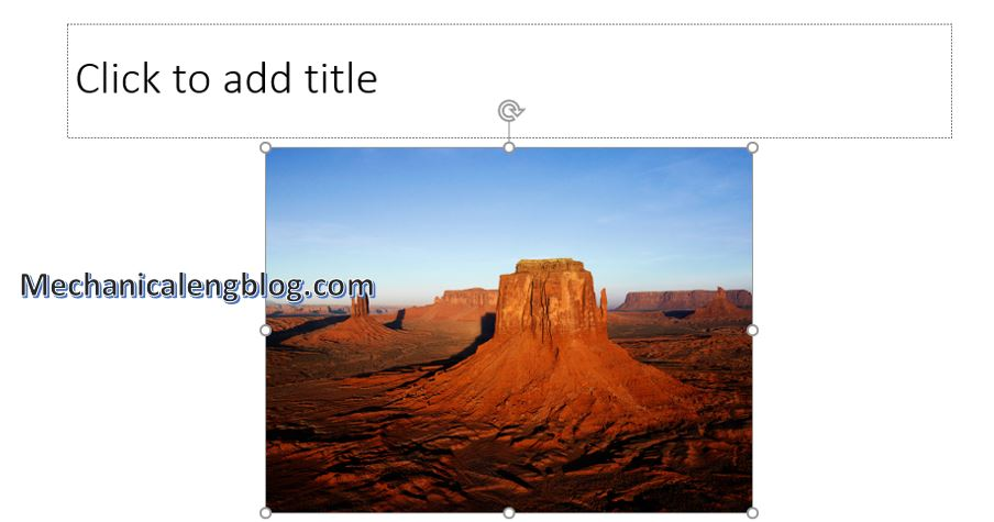 how to resize image in powerpoint 3
