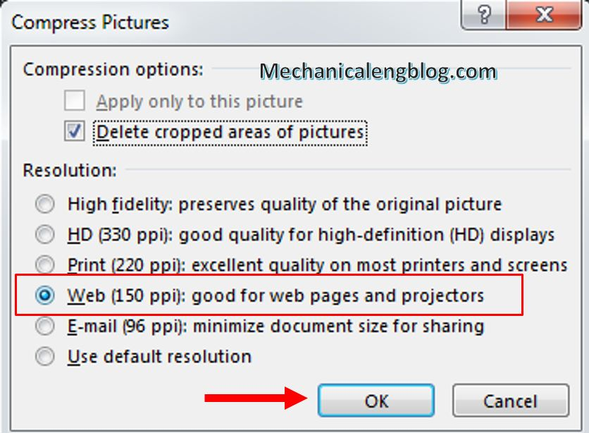 reduce size of PowerPoint 5